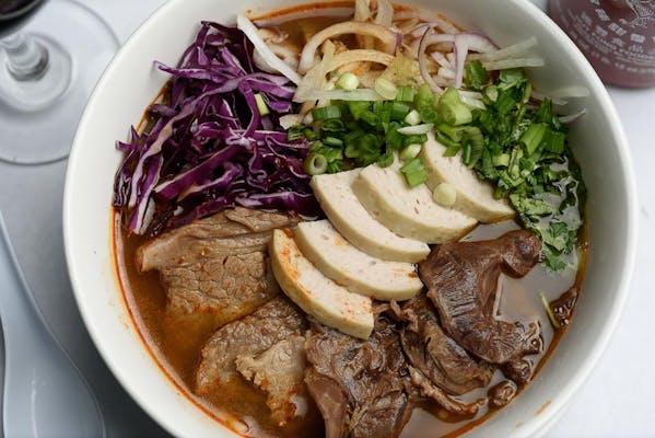 Spicy Hue Noodle Soup