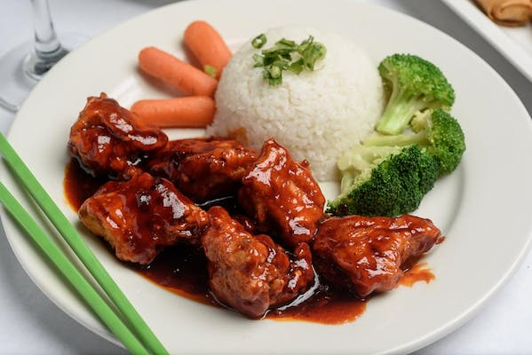 General Tso's Chicken Plate