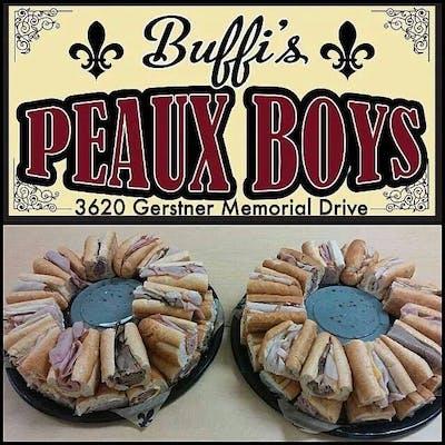 Peaux Boy Party Tray