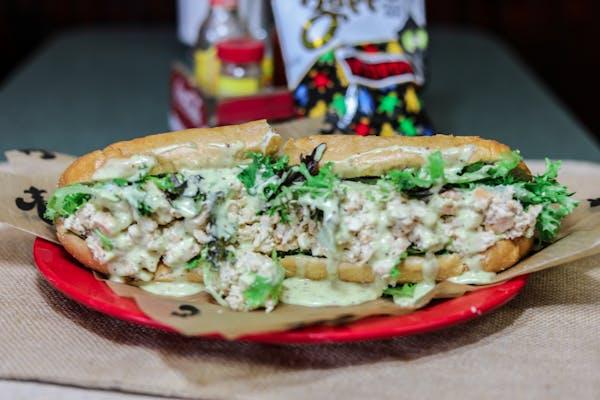 Cajun Chicken Salad Peaux Boy