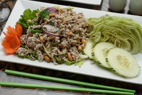 Nam-Sod Pork Salad
