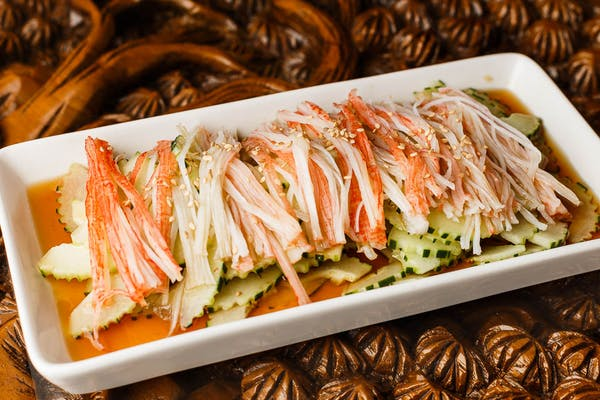 Japanese Crab & Cucumber Salad