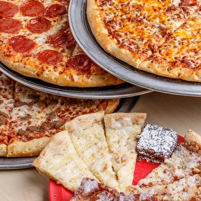 (3) Large Pizzas & (1) Side Value Pack