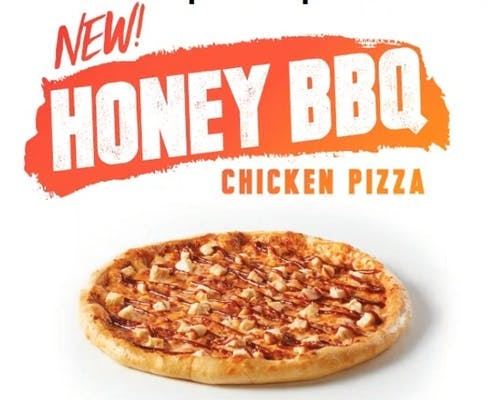 Large BBQ Chicken Pizza