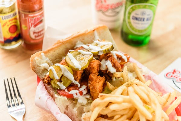 Hot Chicken Po-Boy