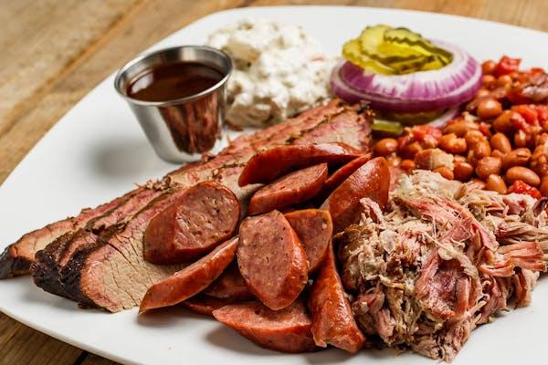 Three-BBQ Meat Plate