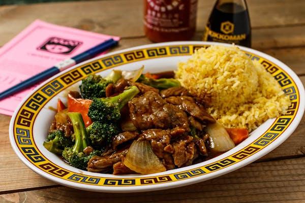 A3. Broccoli Beef Platter