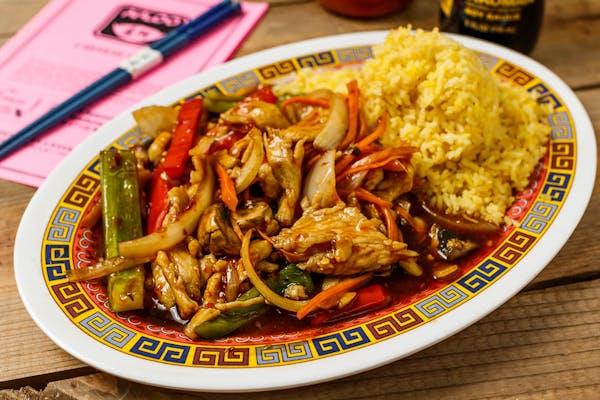 A14. Spicy Chicken Platter