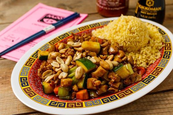A15. Kung Pao Chicken Platter