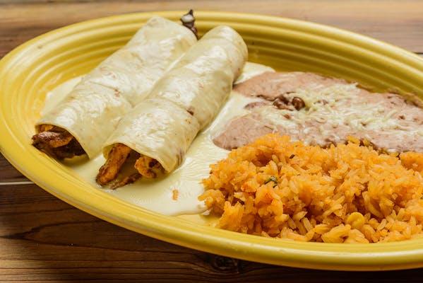 Dinner Burritos Asados
