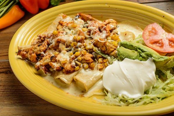 Dinner Enchiladas Tapatias