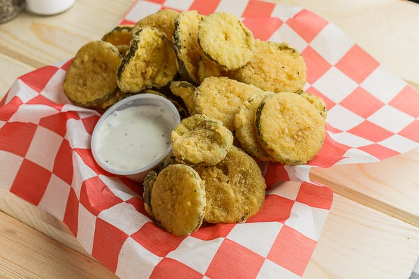 Battered Fried Dill Pickles