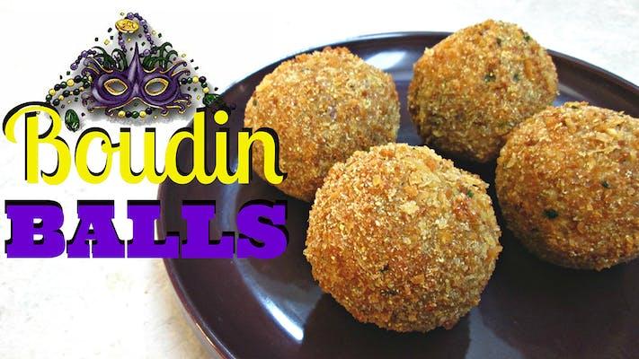 Cajun Boudin Balls