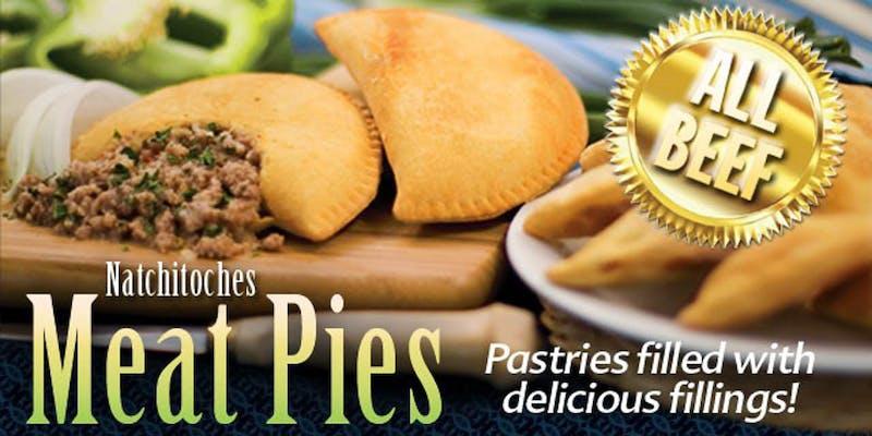 Natchitoches Original Meat Pie