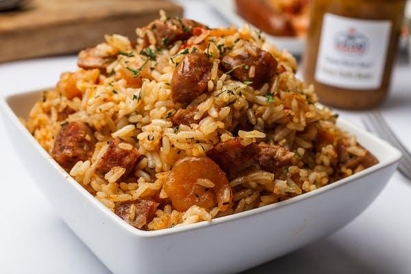 Cajun Rice Plate