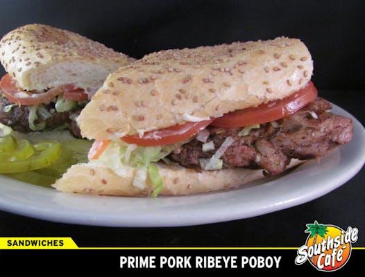 Prime Pork Ribeye Poboy