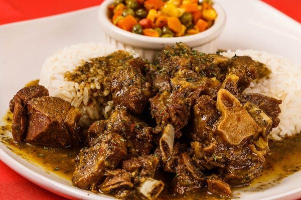 Curry Goat Entrée