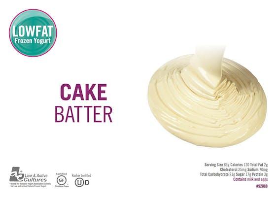 Cake Batter Froyo