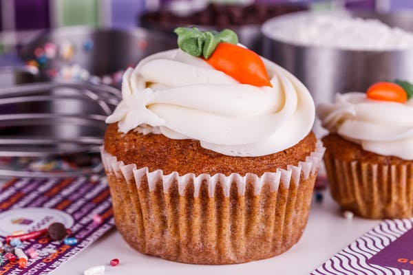Carrot Specialty Cupcake
