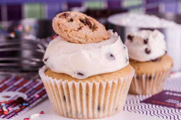 Chocolate Chip Cookie Dough Specialty Cupcake