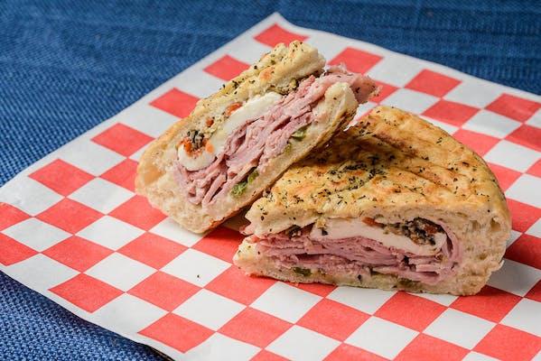 #4 Ham & Salami Panini