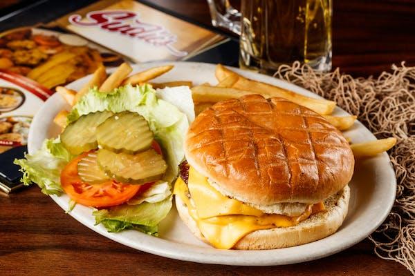Double Meat Angus Steak Cheeseburger