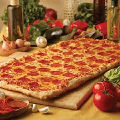 Big Daddy Half Gourmet / Half Regular Pizza