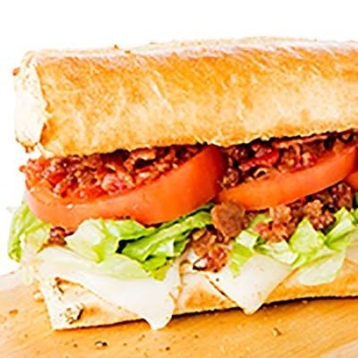 Turkey, Bacon & Cheddar Hoagie