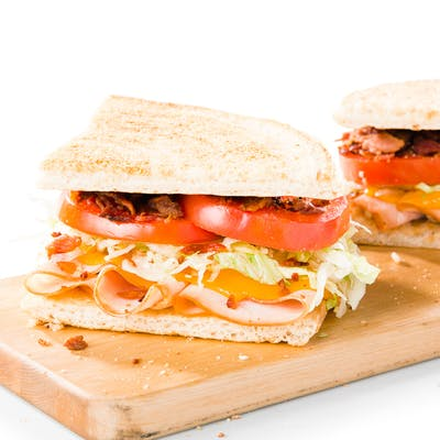 Turkey, Bacon & Cheddar Sandwich