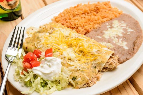 Enchiladas Rancheras Special