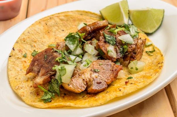 Corn Tortilla Taco (Street Style)