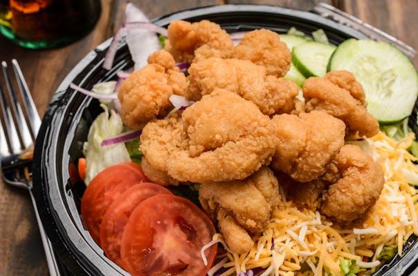Popcorn Shrimp Salad