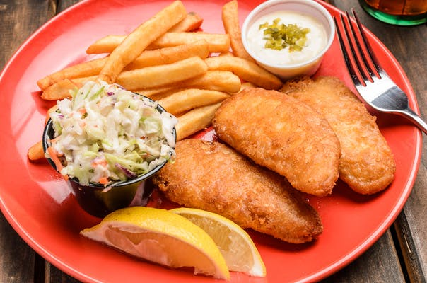 Fish & Chips Combo (#8)