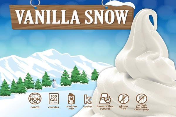 Vanilla Snow Fro-Yo