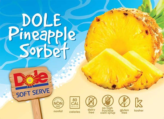 Dole Soft-Serve Pineapple Sorbet