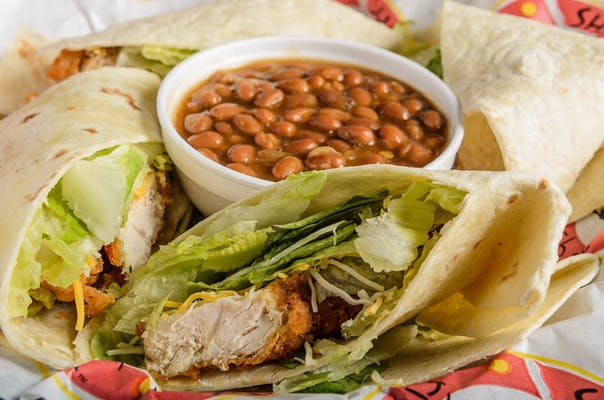 Chicken Shack Wraps