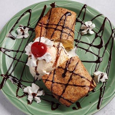 Cheesecake Chimichanga