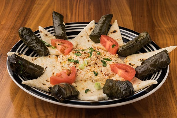 Sarma with Hummus & Lavash