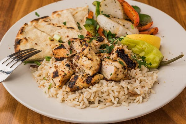Chicken Kabob Plate