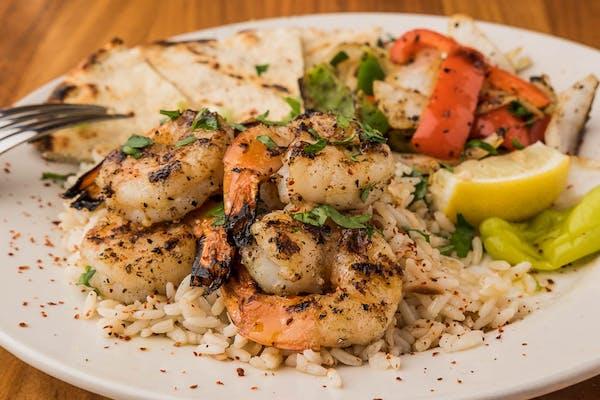 Shrimp Kabob Plate