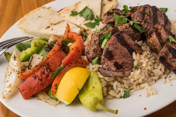 Steak Kabob Plate