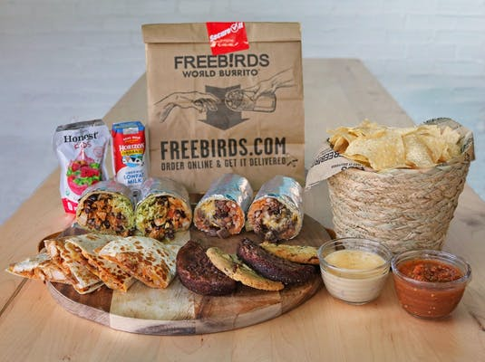 New! Freebirds Burrito Bundle