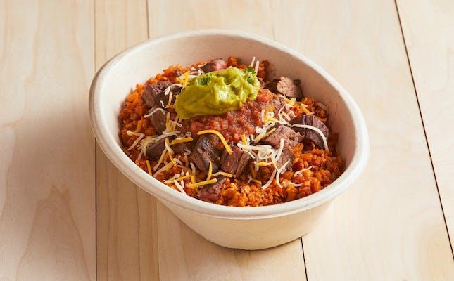Keto Burrito Bowl
