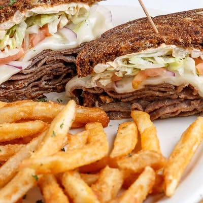 Hot Roast Beef Sandwich