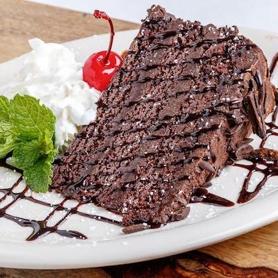 Chocolate Cake à la Mode