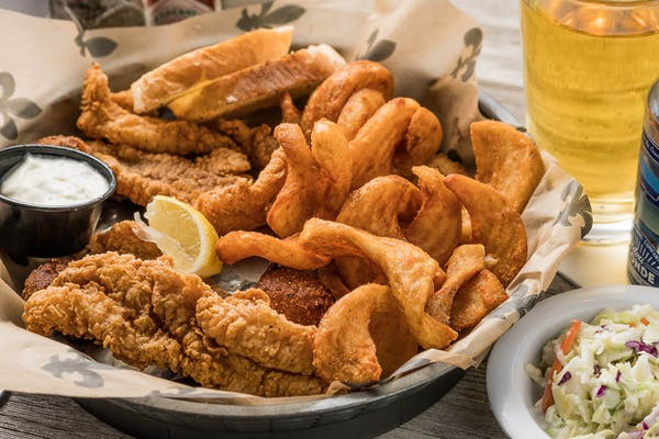Fried Catfish Fillet Basket
