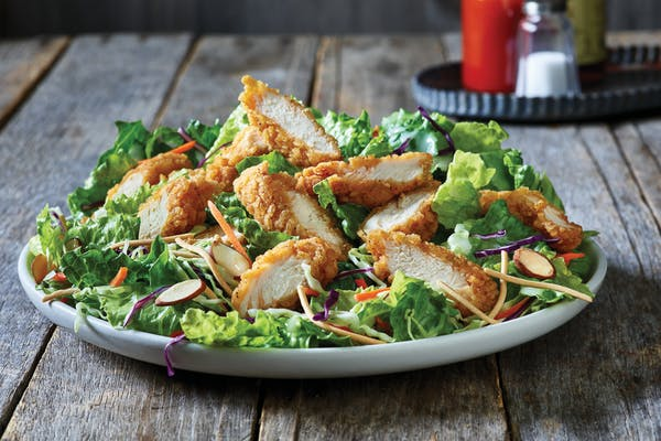 Oriental Fried Chicken Salad