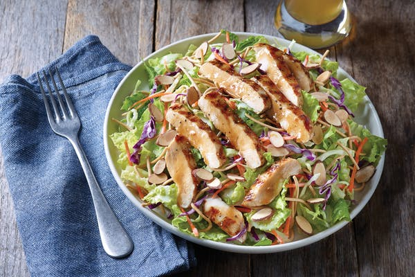 Oriental Grilled Chicken Salad