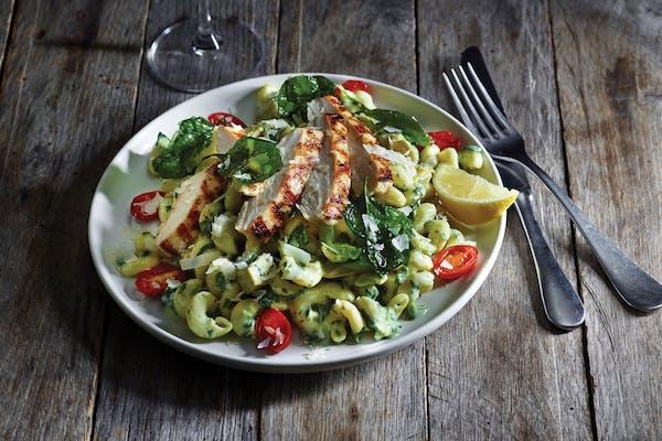 Spinach & Artichoke Chicken Penne