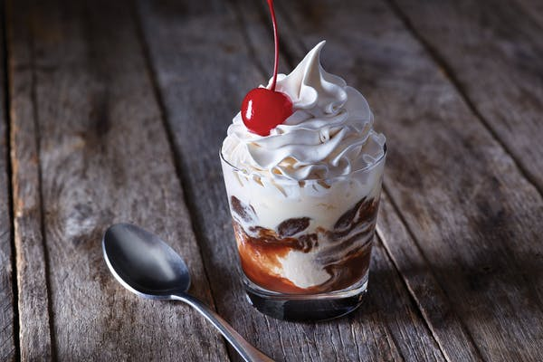 Hot Fudge Sundae Shooter